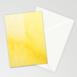 Sunshine Watercolor Stationery Cards