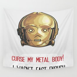 C-3PO Poster Art Wall Tapestry