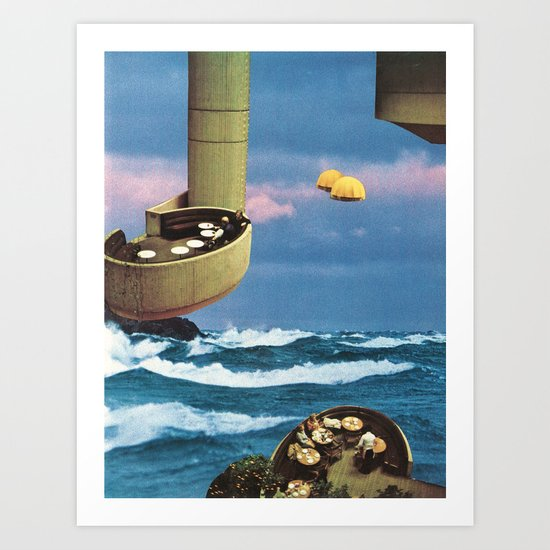 the hanging gardens Art Print