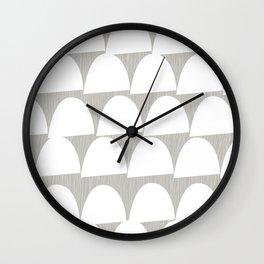 Shroom reverse Wall Clock