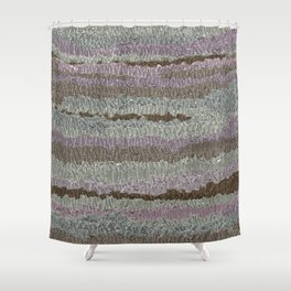 Coffee and lilacs Shower Curtain