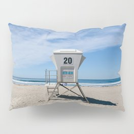 California Beach Day II Pillow Sham
