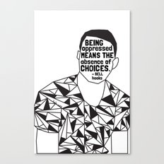 Freddie Gray - Black Lives Matter - Series - Black Voices Canvas Print