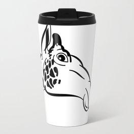 giraffe head  Travel Mug