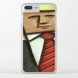 Thumbs Up. Clear iPhone Case