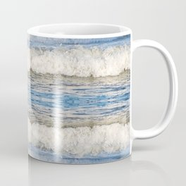 Abstract Waves splashing off the Queensland coast, Australia kaleidoscope Coffee Mug