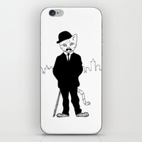 tintin iPhone & iPod Skins featuring Thomson and Thompson by Hannighan