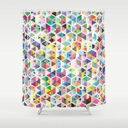 Cuben Colour Craze Shower Curtain