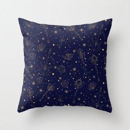 Sailor Moon Constellation Throw Pillow