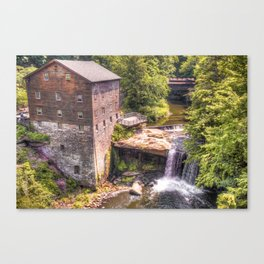 Youngstown Ohio Lanterman's Mill Canvas Print