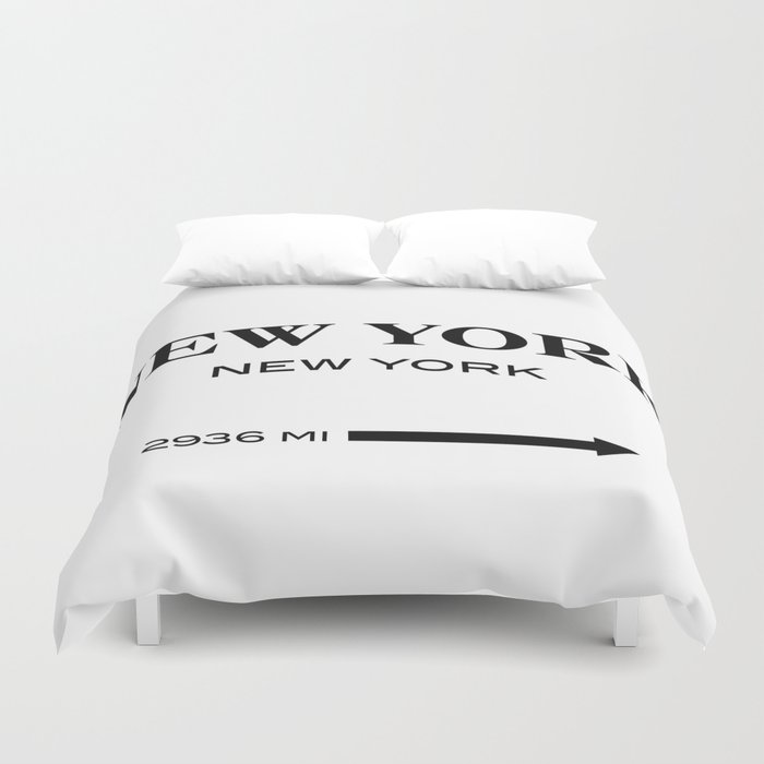 gossip girl sign Duvet Cover