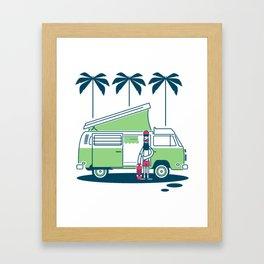Van Life Nº 1 Framed Art Print