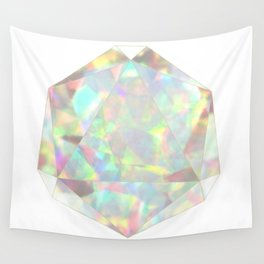 Milky White Opal Wall Tapestry