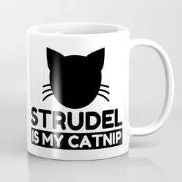 strudel Lover Funny Cat Gifts Coffee Mug