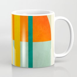 trees with tropical sun Coffee Mug