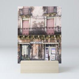 SICILIAN FACADE Mini Art Print