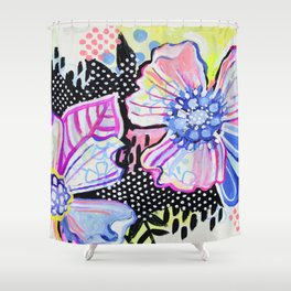 All Choked Up Shower Curtain