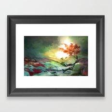 Weirwood Framed Art Print