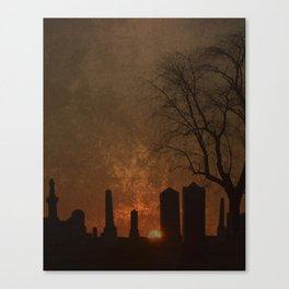 THE BEGINNING OR THE END? Canvas Print