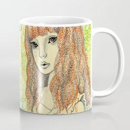 Creepy Girl Coffee Mug