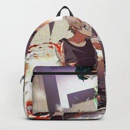bakugo vs deku Backpack