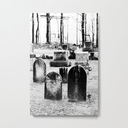 Dearly Departed Metal Print