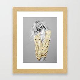 + BAD GIRLS + Framed Art Print