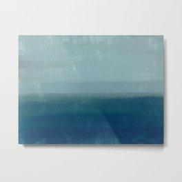 Stormy Ocean Tides Metal Print