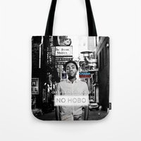 childish gambino Tote Bags featuring Childish Gambino - You See Me! by blugge