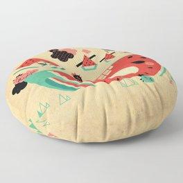 Watermelon Playground Floor Pillow