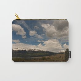 Dramatic Sky Over Twin Lakes Colorado Carry-All Pouch