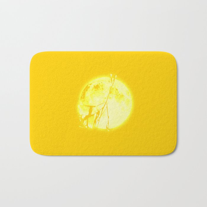 Broken Sun Bath Mat