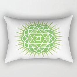 Anahata chakra Rectangular Pillow