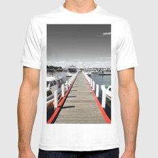 Pier MEDIUM Mens Fitted Tee White