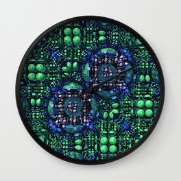 Spring Arrives on the Motherboard Wall Clock