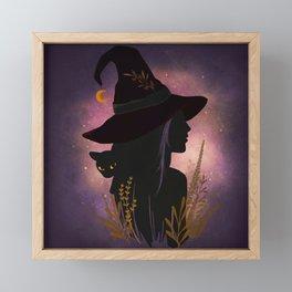 Samhain Summers End Celtic Harvest Festival Framed Mini Art Print