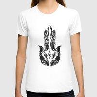 hamsa T-shirts featuring Hamsa by FractalFox