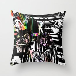 Spectral Release and The Medicated Prison Throw Pillow