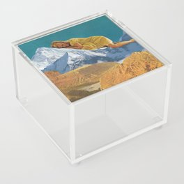 Cozying Up Acrylic Box
