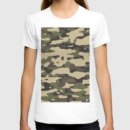 Camouflage Pattern Design T-shirt