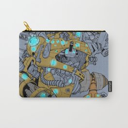 angry-bot in trieste Carry-All Pouch