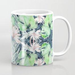 Dark Tropics Pattern by Kristen Baker Coffee Mug