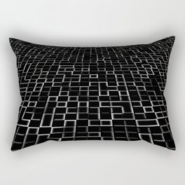 Three dimenssional background Rectangular Pillow