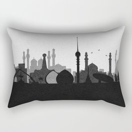 City Skylines: Baghdad Rectangular Pillow