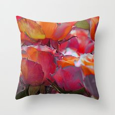 Romantic roses(9). Throw Pillow