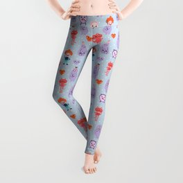 funny monsters Leggings
