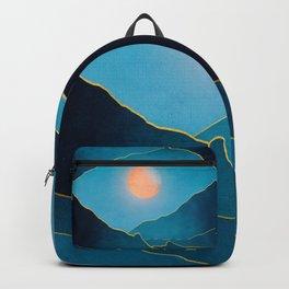 Surreal sunset 03 Backpack