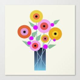 Floral Potpourri Canvas Print