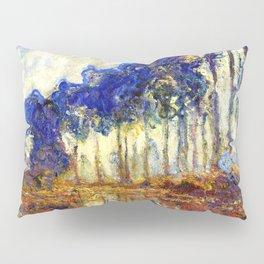 Monet : Poplars on the Banks of the River Epte, 1891 Pillow Sham
