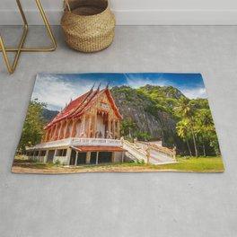Sam Roi Yot Temple Thailand Rug